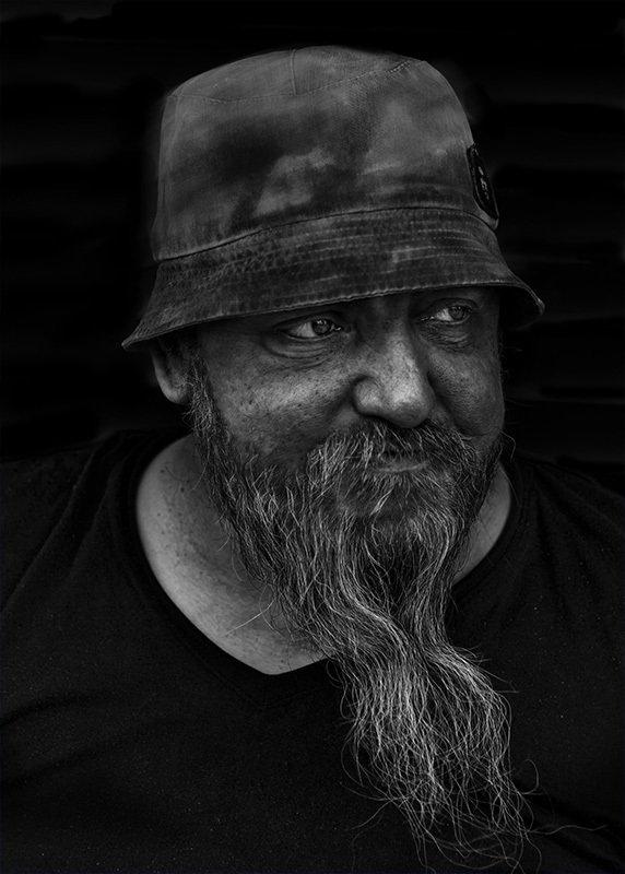 портрет юрий_калинин лица черно_белое юрец уличная_фотография люди сантехники бывают разныеphoto preview