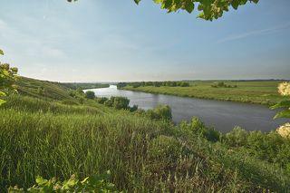 Утро на реке Сосна