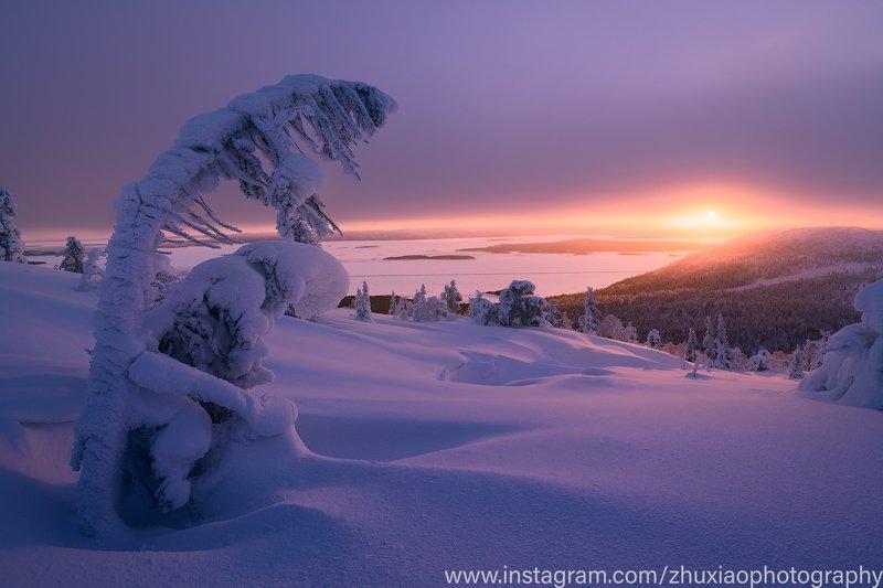Закат на Кольском полуостровеphoto preview