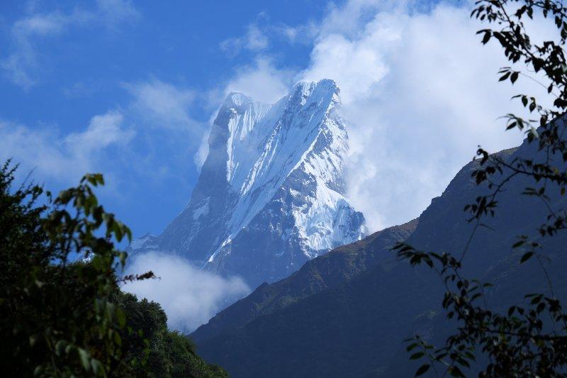 непал, гималаи, горы, альпинизм, nepal, himalayas, mountains, alpinism, Мачапучареphoto preview