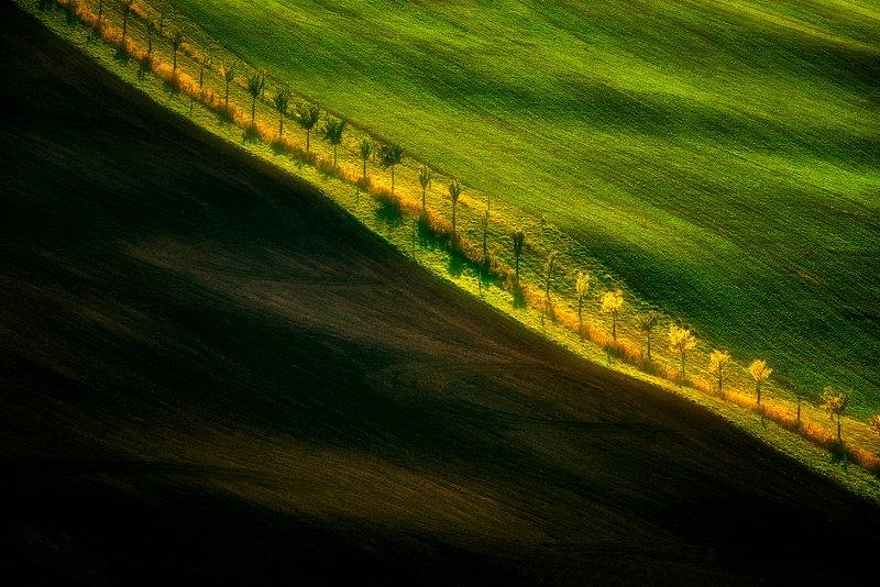 landscape, moravia, fields, nature Moravian fields photo preview