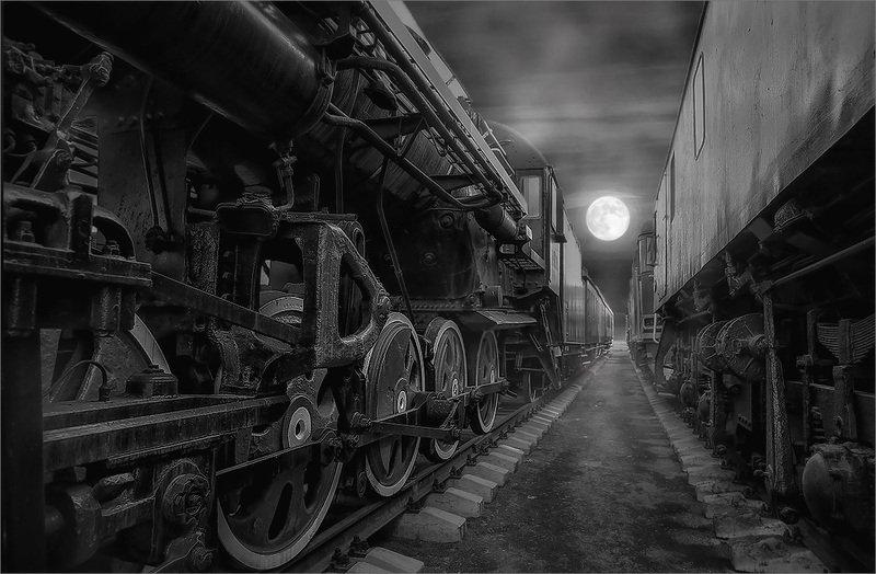 паровозы Железная дорогаphoto preview
