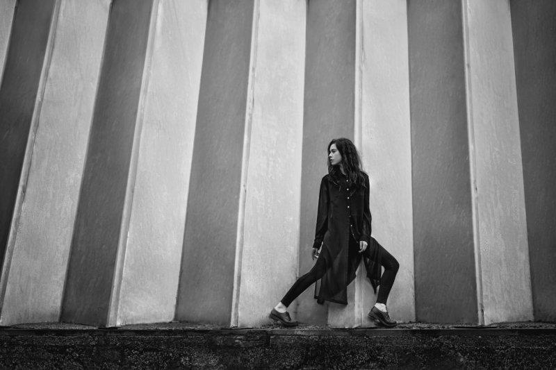 чб, fashion, portrait Алисаphoto preview