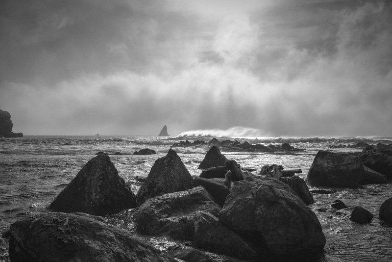 море, пейзаж, уруп Волнаphoto preview