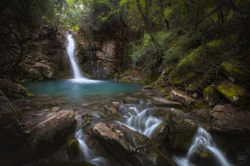черногория, водопад, природа, ущелье, Скрытое местоphoto preview