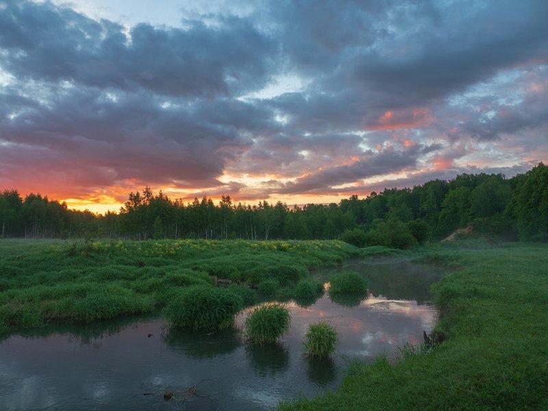 Восход на речке Серойphoto preview