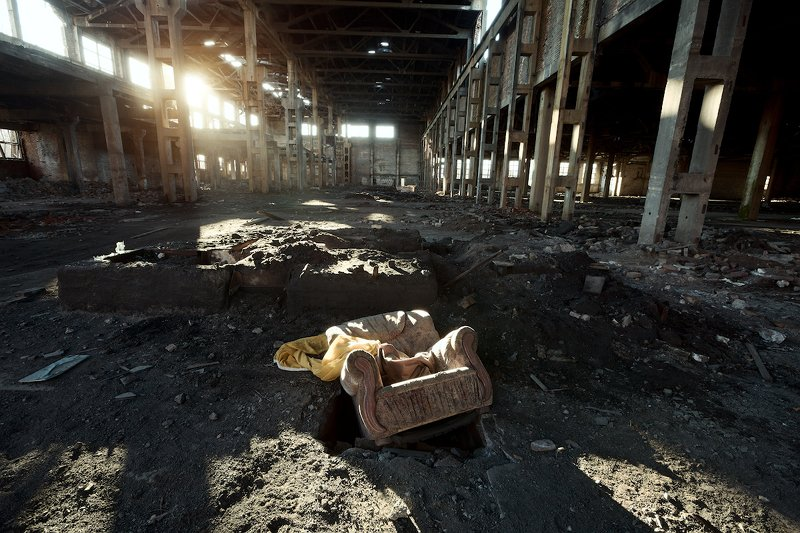 завод, здание, закат, тлен, старое, андрейларионов ***photo preview