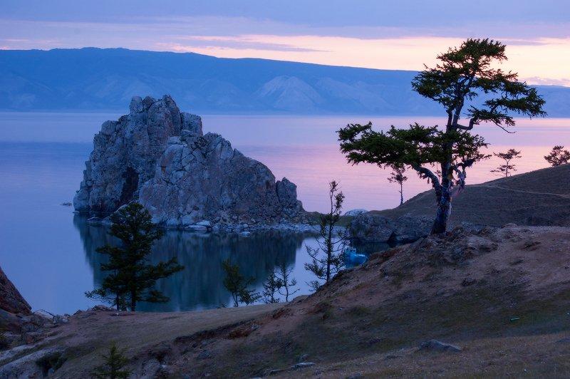 Байкал вечер на Ольхонеphoto preview