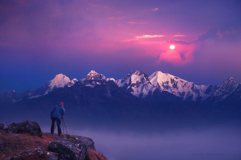 nepal, hymallaya, sunrise, Фотограф фото превью