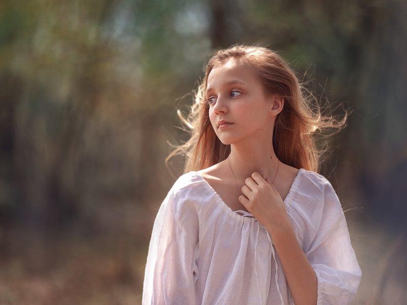 Девочка девушка мечта нежность Россия ветер Нежностьphoto preview