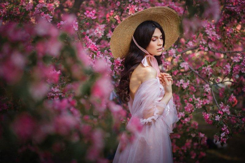 портрет в садуphoto preview