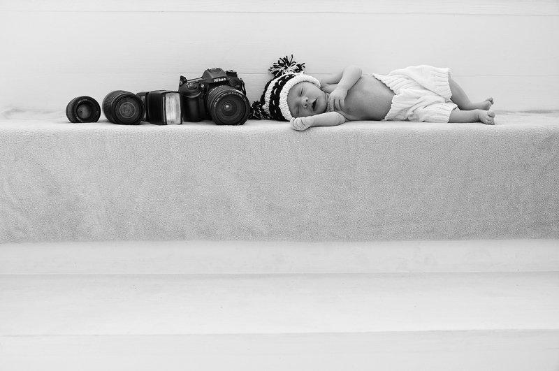 малыш Сын фотографаphoto preview