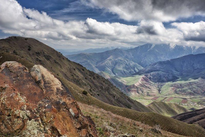 кыргызстан, горы Мольберт времениphoto preview