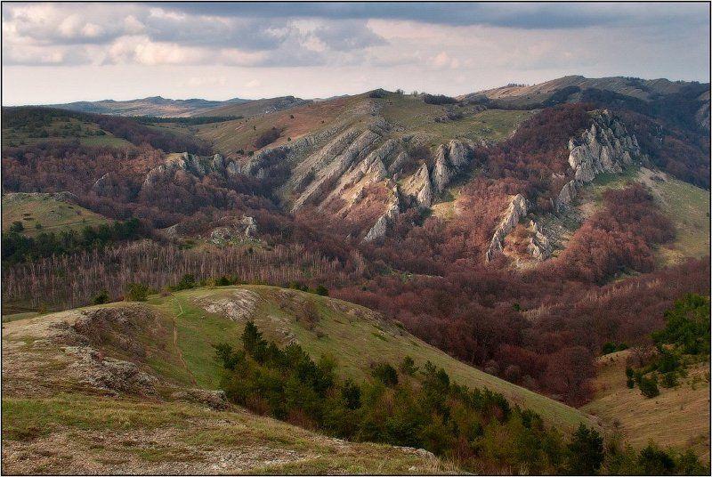крым, демерджи, горы, весна Морщины горphoto preview