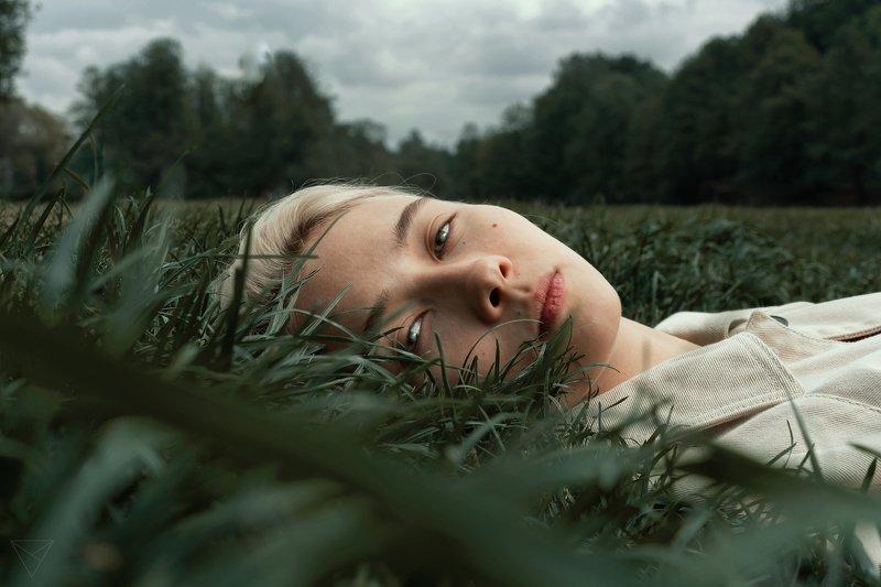 Женский портрет, портрет, природа, portrait, women, красивый портрет, взгляд  Полинаphoto preview