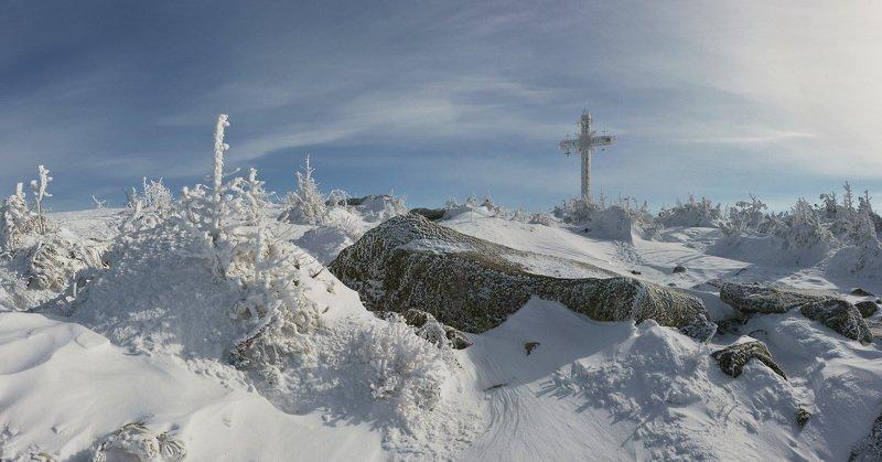шерегеш, гора крестовая Прохладная картинкаphoto preview