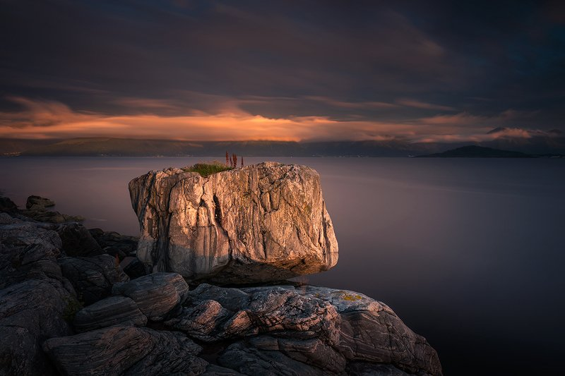 stone,rock,norway,sunset,light,coast The stonephoto preview