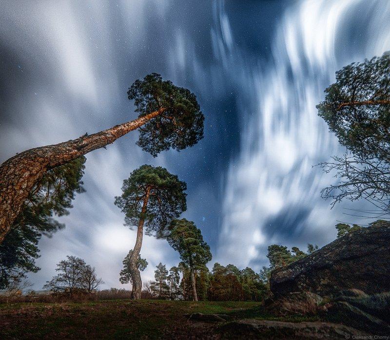 украина, коростышев, волшебство, деревья, жизнь, звезды, небо, ночь, облака, природа, река, свет, тетерев, тишина, музыка, глубина, чувства, мечты, уединение, фотограф, чорный, \