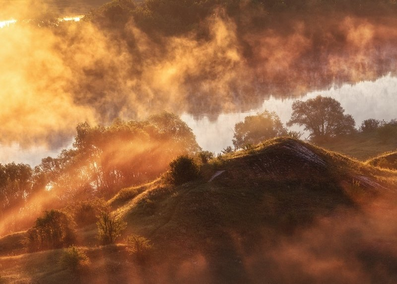 Туманное утро на Дону, с. Сторожевое-1photo preview