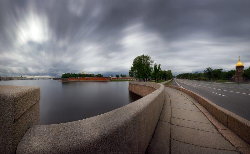 Панорама, питер, город Петропавловская крепостьphoto preview