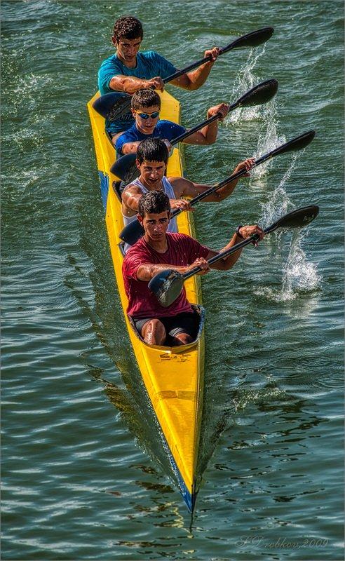 лодка, река, вода, лето Вперёд!photo preview