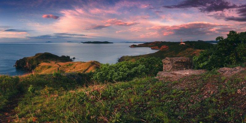 панорама, утро, море, лето ***photo preview
