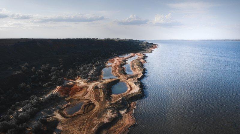 пейзаж, природа, море, берег Курорт Куяльникphoto preview