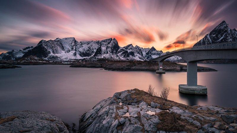 lofoten,norway,landscape,sunset,mountains Lofotenphoto preview