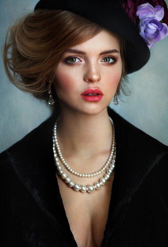 girl, beautiful, девушка, красота, глаза, portrait, #fineart По следам одной картины.photo preview