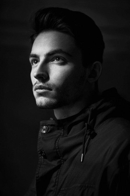 портрет, чб,никон Владимирphoto preview