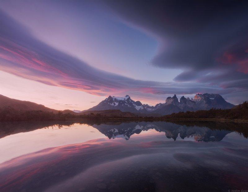 патагония, торресдельпайне, patagonia, torresdelpaine Небесный рукавphoto preview