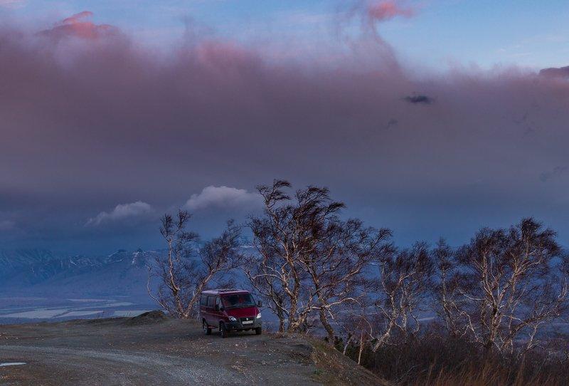 Камчатка, весна, перевал, Южные Коряки  На семи ветрахphoto preview