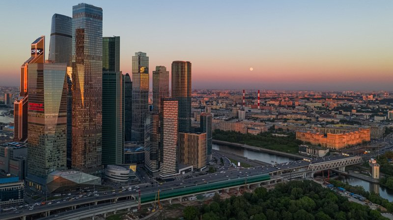 moscow, architecture, drone, mavicpro2 Moscow Cityphoto preview