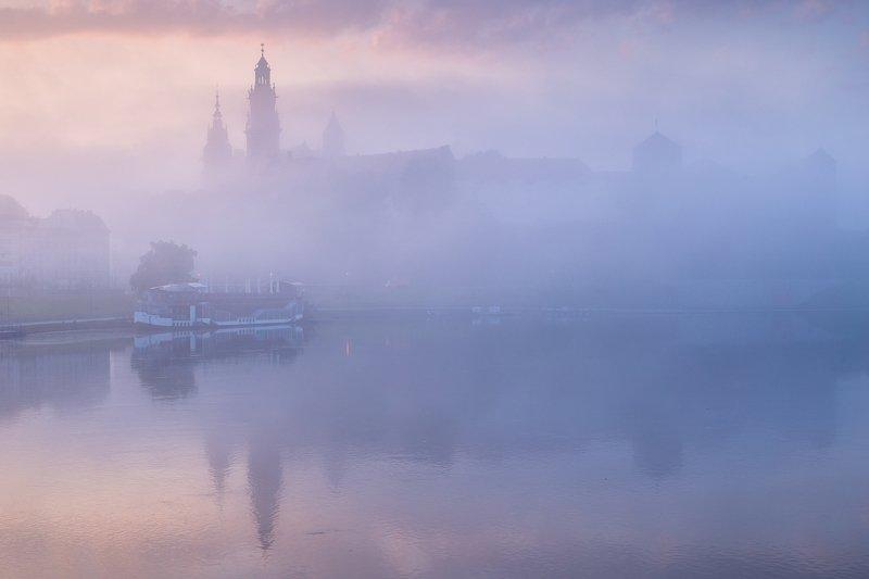 kraków, canon, 6d, krakow,cracow, rydzewski,landscape, architektura, polska, poland, małopolska, mgła, the fog, fog, Krakówphoto preview