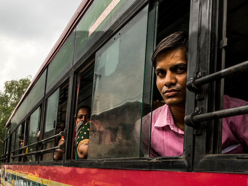 india, bus, stereet Indian buses. photo preview