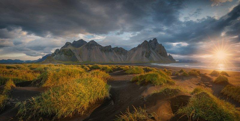 исландия, iceland, стокнесс, stokness Рассвет на мысе Стокнесс.photo preview