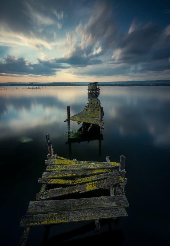 Blue lake photo preview