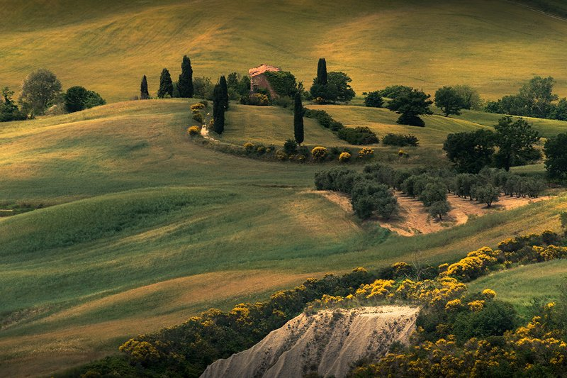 In beautiful Tuscanyphoto preview