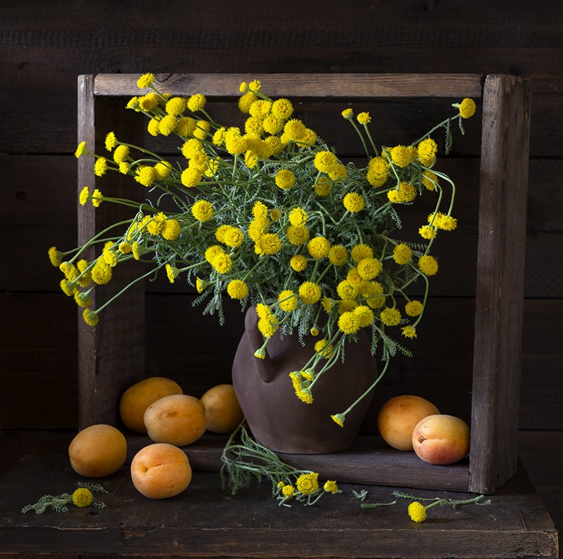 натюрморт, цветы, still life Санталинаphoto preview