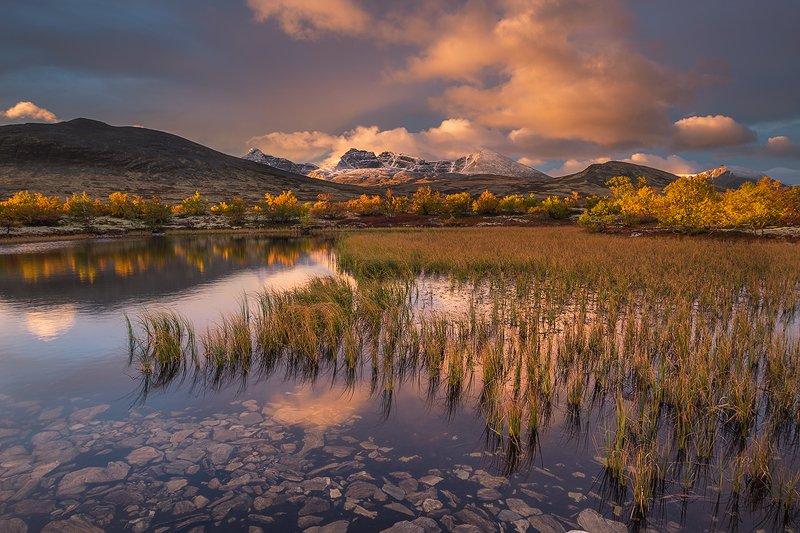 norway,nature,sunrise,mountains,fall,autumn,light Rondanephoto preview