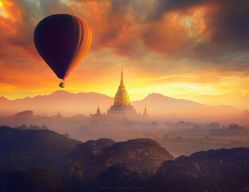 Bagan, Myanmar.photo preview