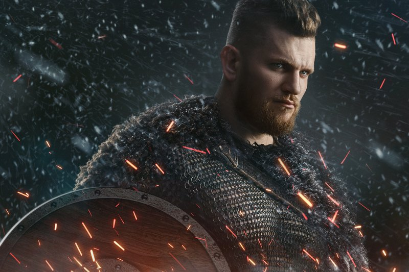 warrior, knight, hero, богатырь, war Russian Superherophoto preview