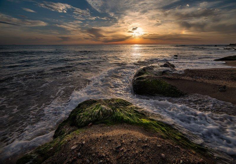 рассвет, море, болгария Рассвет на Черном море Болгарияphoto preview