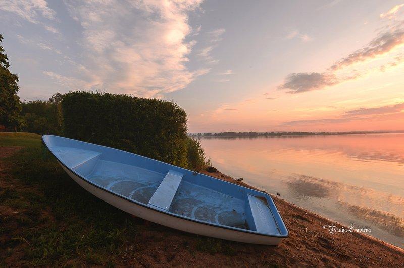 природа,утро,рссвет,беларусь,лодка,июнь \