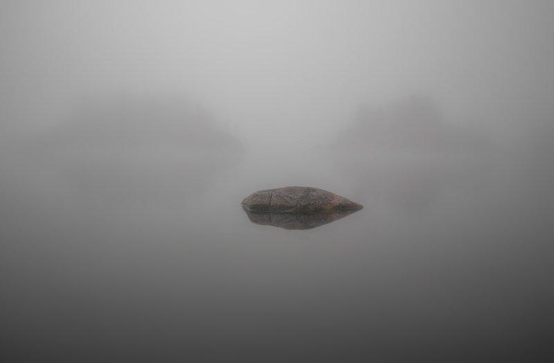 ладога, весна, шхеры, рассвет ,карелия, туман Ладожский минимализмphoto preview