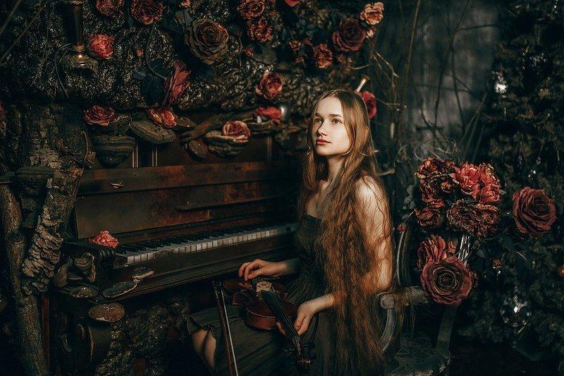 портрет, модель, арт, art Анастасияphoto preview