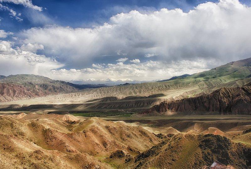 кыргызстан, горы Запах летаphoto preview