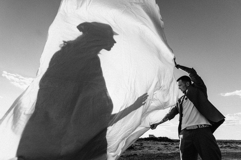 Пара, лавстори, силуэт, тень, ИльяРихтер, Рихтер, Портрет Неуловимаяphoto preview