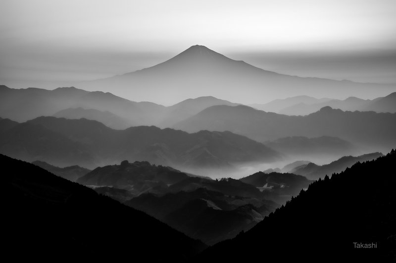 Fuji,Japan,mountain,gaze,fog,beautiful,morning,sunrise Sunrise valley 2photo preview