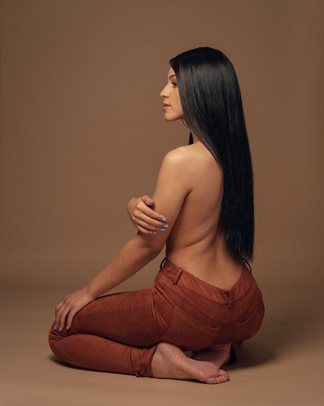 model, topless, beautiful, female, girl, portrait Jaelenephoto preview